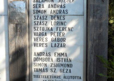 Dálnok világháborús emlékmű 2019.06.11. küldő-Fehér Mónika (5)
