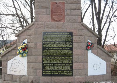 Dédestapolcsány világháborús emlékmű 2008.02.18.küldő-Kályhás (2)