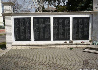 Dévaványa világháborús emlékmű 2009.03.27.küldő-Sümec (2)