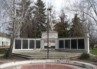 Dévaványa világháborús emlékmű 2009.03.27.küldő-Sümec