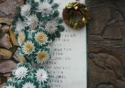 Döge II.vh emlékmű 2009.12.28. küldő-Ágca (1)