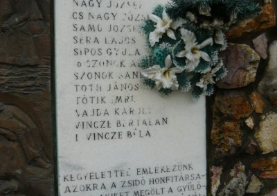 Döge II.vh emlékmű 2009.12.28. küldő-Ágca (2)