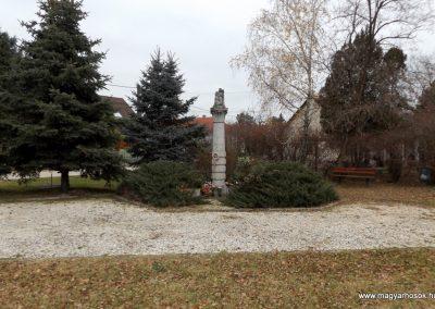 Dabas-Alsódabas I. világháborús emlékmű 2015.11.27. küldő-kalyhas