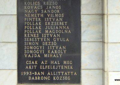 Dabronc II. világháborús emlékmű 2015.07.27. küldő-Méri (3)