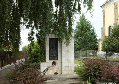 Dabronc II. vh-s emlékmű