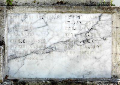 Dabrony I. világháborús emlékmű