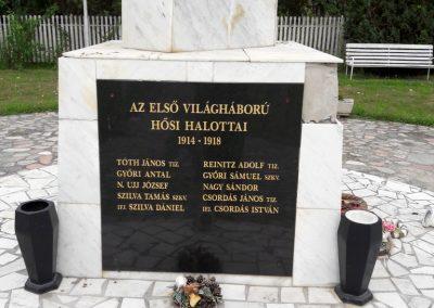 Damak világháborús emlékmű 2017.08.13. küldő-Eszterhai Zsuzsa