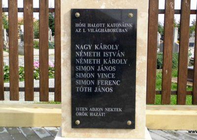 Daraboshegy világháborús emlékmű 2015.10.05. küldő-Méri (2)