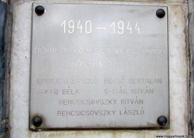Debréte világháborús emlékmű 2014.06.15. küldő-kalyhas (4)