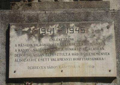 Debrecen Hősi emlékmű 2009.05.16.küldő-Huszár Peti (7)