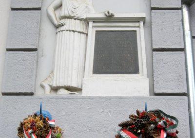Debrecen Kereskedelmi és Iparkamara épülete I. világháborús emléktábla 2017.07.12. küldő-Emese (1)