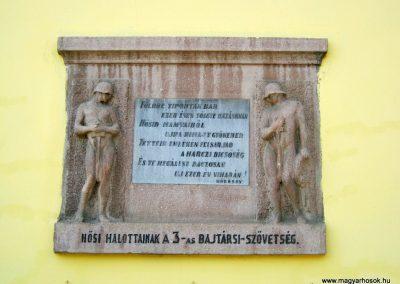 Debrecen Nagysándor József laktanya hősök emléktáblája 2017.07.20. küldő-Emese (1)-001