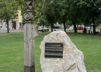 Debrecen Petőfi tér II. világháborús emlék 2017.07.12. küldő-Emese