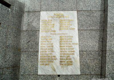 Deménd, II. világháborús emlékmű