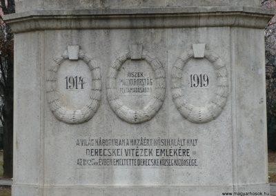 Derecske I.vh emlékmű 2008.12.30. küldő-Ágca (2)