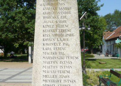 Derekegyház I. világháborús emlékmű 2012.08.02. küldő-Sümec (5)