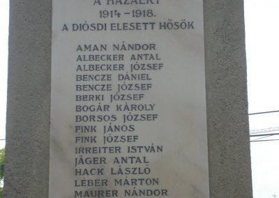 Diósd I.vh emlékmű 2008.04.28. küldő-Huszár Peti (3)