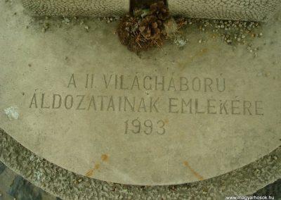 Diósd II.vh emlékmű 2008.04.28. küldő-Huszár Peti (2)