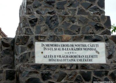 Disznajó világháborús emlékmű 2011.06.21. küldő-Ágca (4)