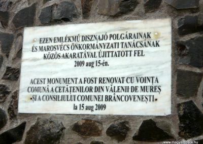 Disznajó világháborús emlékmű 2011.06.21. küldő-Ágca (9)