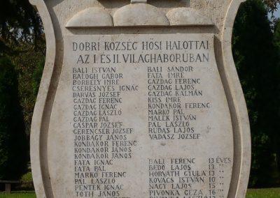 Dobri világháborús emlékmű 2009.09.16. küldő-Sümec (2)