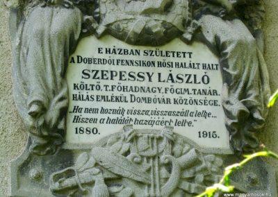 Dombóvár I. világháborús emléktábla 2016.07.21. küldő-Emese (3)