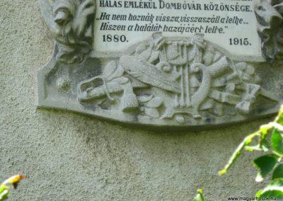 Dombóvár I. világháborús emléktábla 2016.07.21. küldő-Emese (4)