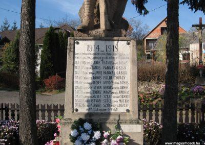 Dorogháza világháborús emlékmű 2008.11.03. küldő-kalyhas (3)