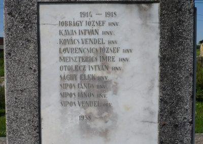 Drávaszentes világháborús emlékmű 2009.05.08.küldő-Sümec (4)