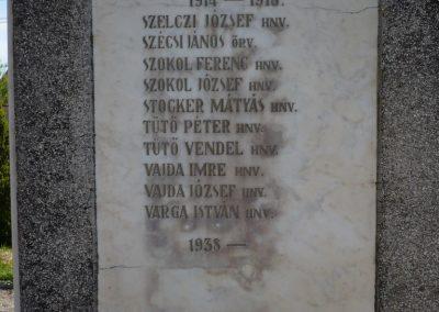 Drávaszentes világháborús emlékmű 2009.05.08.küldő-Sümec (5)