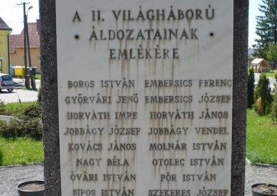 Drávaszentes világháborús emlékmű 2009.05.08.küldő-Sümec (6)