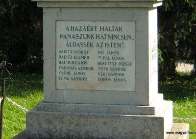 Drávaszerdahely világháborús emlékmű 2010.05.26. küldő-Vető Zsuzsanna (3)