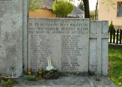 Drégelypalánk világháborús emlékmű 2009.04.13.küldő-Ágca (4)