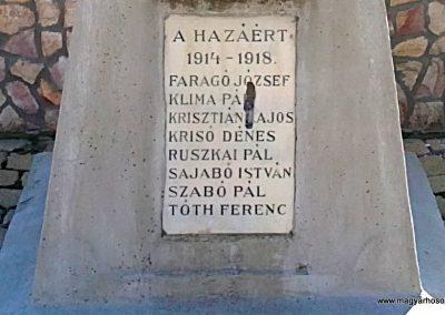 Dubicsány világháborús emlékmű 2012.03.20. küldő-Pataki Tamás (2)