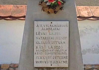 Dubicsány világháborús emlékmű 2012.03.20. küldő-Pataki Tamás (3)
