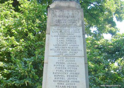 Dunabogdány világháborús emlékmű 2008.07.05. küldő-Huszár Peti (14)