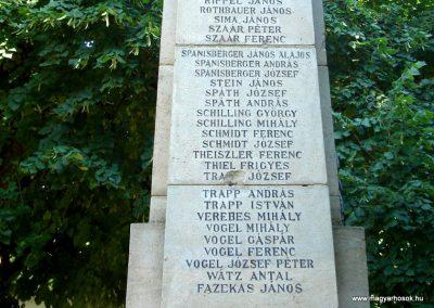 Dunabogdány világháborús emlékmű 2008.07.05. küldő-Huszár Peti (15)