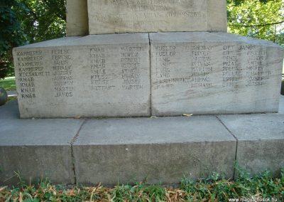 Dunabogdány világháborús emlékmű 2008.07.05. küldő-Huszár Peti (20)