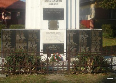 Dunaharaszti világháborús emlékmű 2008.10.08. küldő-Huszár Peti (4)