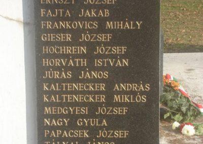 Dunaharaszti világháborús emlékmű 2008.10.08. küldő-Huszár Peti (6)