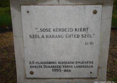 Dunakeszi II.vh emlékmű 2008.04.17.küldő-Huszár Peti (2)