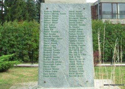 Dunapataj I. világháborús emlékmű 2007.10.06. küldő-Markó Péter (5)