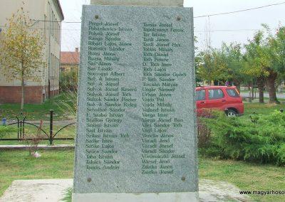Dunapataj I. világháborús emlékmű 2007.10.06. küldő-Markó Péter (9)