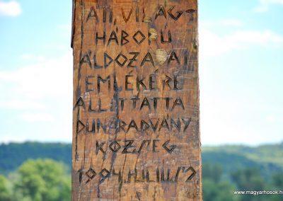 Dunaradvány II.vh emlékmű 2010.06.05. küldő-Juditka123 (4)