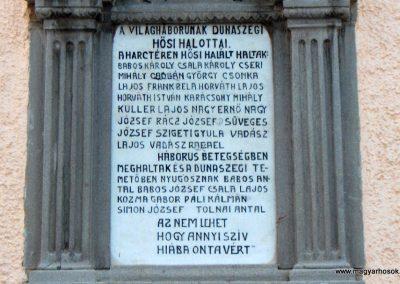 Dunaszeg I.vh.emlékmű 2006.11.07. Küldő-Hege (2)