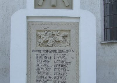 Dunaszentbenedek I. világháborús emlékmű 2007.10.03. küldő-Markó Péter (3)