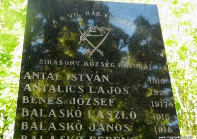 Dunaszerdahely-Sikabony világháborús emlékmű 2014.06.20. küldő-Méri (2)