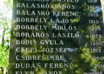 Dunaszerdahely-Sikabony világháborús emlékmű 2014.06.20. küldő-Méri (3)