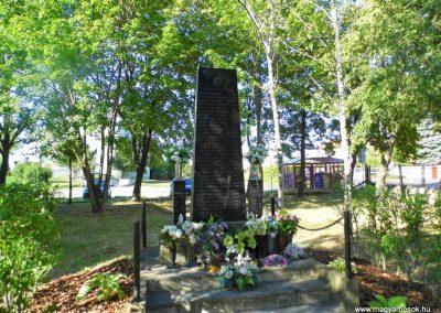 Dunaszerdahely-Sikabony világháborús emlékmű 2014.06.20. küldő-Méri