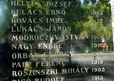 Dunaszerdahely-Sikabony világháborús emlékmű 2014.06.20. küldő-Méri (5)